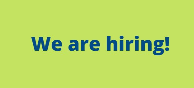 We are hiring – two exciting new roles available